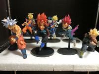 Dragon Ball Figure Figurine Lot of 7 Goku Vegeta Gohan Bundle