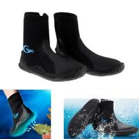 Lovoski Pro 5mm Neoprene Scuba Diving Surfing Beach Swimming Wetsuit Boots Shoes