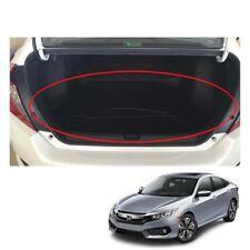 Fit Honda Civic Fc 4 Doors 2016 - 2017 + Rear Cargo Trunk Tray Trim Black 1 Pc