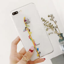 Silicone Snow White Princess Disney TPU Case Cover For iPhone X 8 7 6/6s Plus