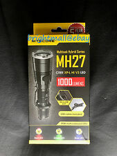 Nitecore MH27 1000 Lumens Compact USB Rechargeable LED Flashlight