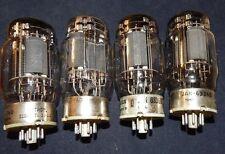 4 PIECES TYPE 6336A / 6336 POWER TRIODES 4 TUBES TUNGSOL CETRON USA VINTAGE 5998