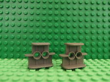 2 Lego Technic Dark Bluish Grey Rubber Band Belt Holder 2 x 4 x 2 1/3 41752 T103