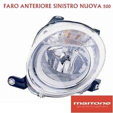 FARO SINISTRO H7 FIAT NUOVA 500 '07 -> - PROIETTORE FANALE ANTERIORE ANT SX