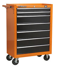 DJM Pro 7 Drawer Roll Cab Roller Cabinet Bottom Metal Steel Tool Box Recon
