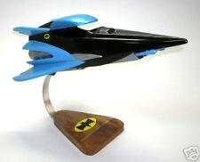 Batman HYPER-JET Batplane Airplane Desk Wood Model Big New