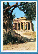 ITALIA PATRIA NOSTRA Panini 1969 Figurina/Sticker n. 296 - AGRIGENTO -New