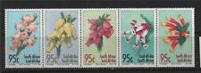 South Africa 1994 Heathers SG 859/63 MNH