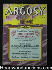 Argosy Jan 04,  1941 Max Brand, Dale Clark Hollywood story