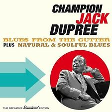 Jack Dupree - Blues from the Gutter + Natural & Soulful Blues [New CD] Spain - I