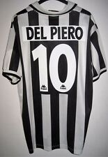 #10 DEL PIERO JUVENTUS 1996-1997 LIPPI MAGLIA SONY HOME SHIRT JERSEY KAPPA (L)