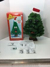 Gemmy Douglas Fir Talking Tree Sound and Motion Activated Tested Vintage