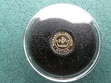 1/4 Gram .9999 Fine Gold Round by Monarch Sealed in Capsule Great Gift! Fast SP