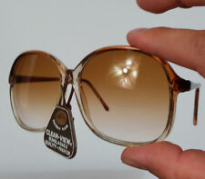 New! Vintage 70s NOS Retro Womens Oversized Sunglasses 80s Frame Atomic Mid Cent