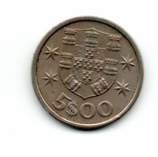 Portugal 1975, vintage coin, 5 escudos, combined shipping accepted