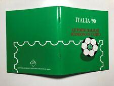 1990 Libretto Folder Italia '90 Le Poste Italiane Scendono in Campo CU P33