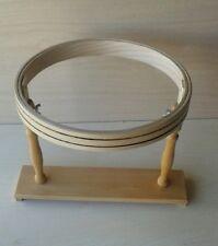 Telaio Cerchietto da ricamo in legno cm 27