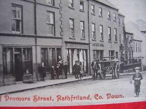 RPPC  real photo Postcard  post card Rathfriland Co Down Ireland  Irish
