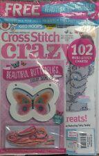 Cross Stitch Crazy UK May 2017 Beautiful Butterflies Frame Kit FREE SHIPPING sb