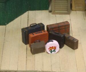 Berkshire Valley Models O/On3/On30, 1/48 Luggage - assortment,  7 per pkg - #652