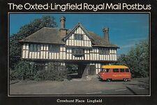 (97693) Cartolina Oxted Lingfield Royal Mail Bus SEPR3 1980