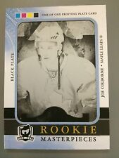 11-12 UD THE CUP ROOKIE MASTERPIECES BLACK PRINTING PLATE JOE COLBORNE RC 1/1