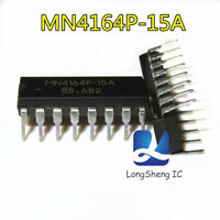 10PCS MN4164P-15A Encapsulation:DIP,NMOS 65,536 X 1 BIT DYNAMIC RAM new