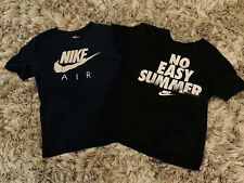 Nike Air And No Easy Summer Tee Shirt Mens Sz Size Medium Lot Of 2