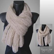 Winter Schal * Winterschal Strickschal Loopschal - Knit Scarf - Ajour - DA 6