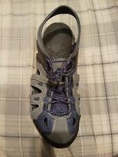 NEW Men's OZARK TRAIL Shoes Sz 8 Gray & Blue Outdoor Sandals Comfort Memory Foam