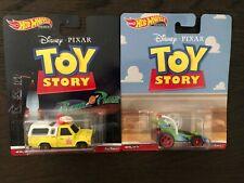 New 2019 Hot Wheels Disney Pixar Toy Story RC CAR/Pizza  Planet Truck Lots Of 2