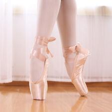 Ballet women's dance shoes slippers toe soft sole gymnastics training shoes