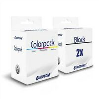 3x Eco Ink 2+1 Replaces Canon CL541XL PG540XL CL-541 XL PG-540 XL