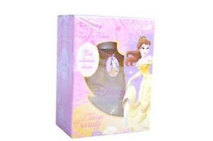 ** KIDS ** Disney Princess BELLE 3.4 oz Eau De Toilette EDT + Collectible CHARM