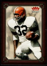 2004 Fleer Greats of the Game Football - Pick A Card