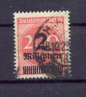 DR 309 AP Y liegendes Wz. gestempelt Befund Weinbuch (at100)