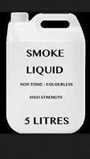 Líquido para máquina de humo profesional de 5 litros de zumo de líquido Niebla Niebla Fiesta Efecto 5L