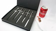 Game of Thrones 5 Piece Letter Opener Sword Set (ice Needle Longclaw More)