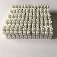barette de 12 dominos connexion électrique 2,5mm² BLANC  X1,X2,X3,X4,X5 X10