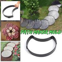 Reusable DIY Path Floor Maker Mould Plastic Garden Lawn Paving Brick Cement