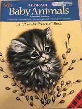 Adorable Baby Animals DecorativePainting Pattern Book Peggy Harris Step-by-Step