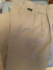 New listing mens flynn & ohara uniform pants tan (29)