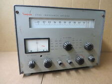 simpson IMPEDANCE BRIDGE # 2785 VINTAGE ELECTRONIC TEST EQUIPMENT