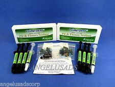 Dental Light Cure Pit And Fissure Sealant Syringe Opaque Kit /2 Box PRIME DENT