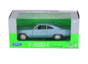 Welly 1965 65 Chevrolet Impala SS 396 diecast model BLUE 1/24 scale 22417 NEW
