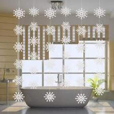 6x Flocon de Neige Suspendus Plafond Décoration de Noël Ornement de Maison