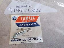 NOS OEM Yamaha Pin Cotter(QTY 2) 1972-2016 GP433 XT250 XVS13 YFA1 91401-25015
