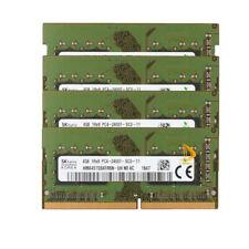 16 ГБ-SK Hynix ОЗУ 4x 4 ГБ 1Rx8 PC4-2400T DDR4-19200S для ноутбука Sodimm модуль памяти