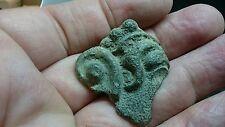 Bronce romano muy raro fragmento parte Cara Y Oído de ídolo/Dios Busto O Estatua L109