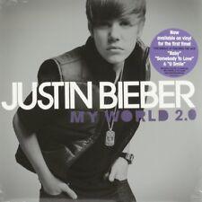 Justin Bieber, My World 2.0  Vinyl Record *NEW*